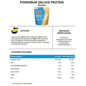 PowerBar Deluxe Protein Pack Banana 500g